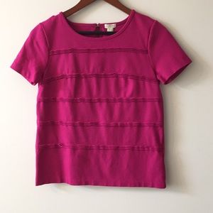 Pink top from J.Crew size XS